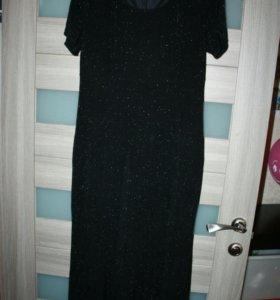 Красивое платье-рыбка 48-50р