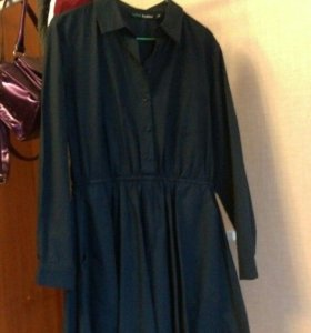 платье рубашки из бифри