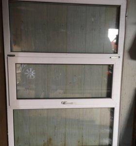Стеклопакет 140*188 стекло двойное