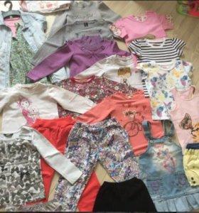 Вещи пакетом на девочку 3-5 лет