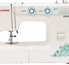 Новая швейная машина Janome LW 20