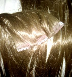 Исскуственный волос на заколках