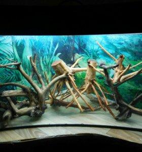 Коряжки в аквариум