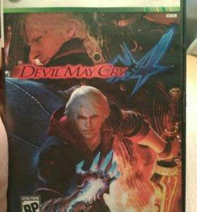 "Xbox игра ""Devil May Cry 4"""