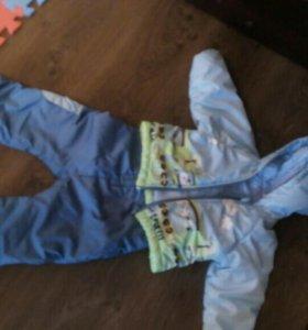 Куртка и комбинезон для мальчика
