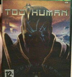 """Xbox игра """"Too Human"""""""