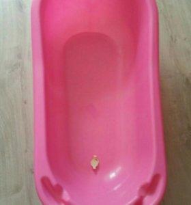 Ванночка детская, горка (гамак в подарок).