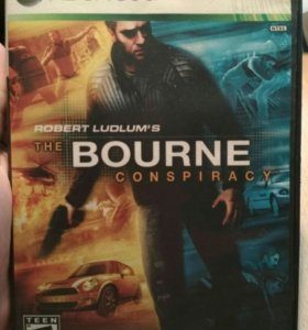 """Xbox игра """"The Bourne Conspiracy"""""""