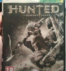 """Xbox игра """"Haunted. The Demon's Forge."""