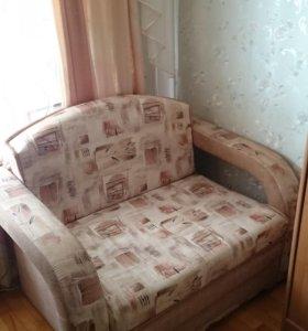 диван -малютка раскладной,практичный