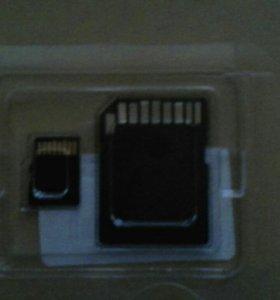 Карта памяти Silicon Power microSDHC 4гб Class 4