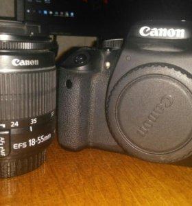 Фотоаппарат canon 600D + 18-55 ef-s 3.5-5.6