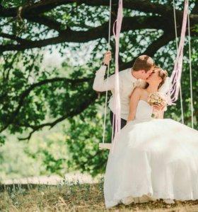 Аренда качели для свадебной фотосессии