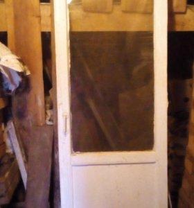 застекленные рамы и двери на теплицу