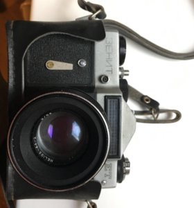 Фотоаппарат Зенит Ет объектив helios 44-2