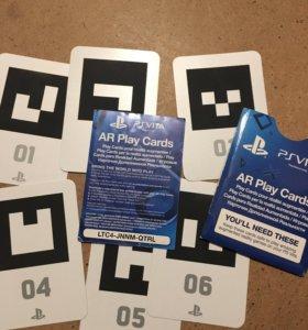 Карточки для игр на PlayStation vita