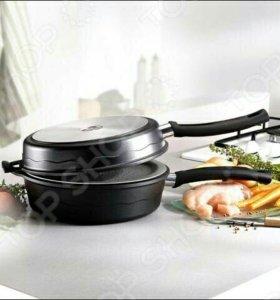 Сковорода двойная boniotti Итальянская