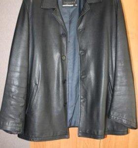Куртка кожанная Bigardini б/у р.50