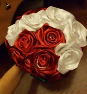 Букет цветов подарок свадебный для невесты