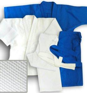 Кимоно (новое) для дзюдо (дзюдоги) всех размеров