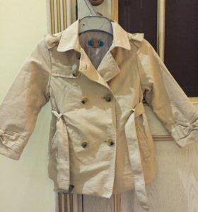 Детский плащ (куртка) Zara baby
