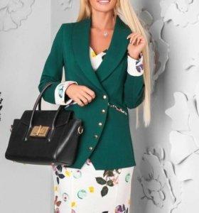 Костюм (платье + пиджак)