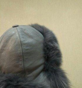 Шапка- ушанка женская