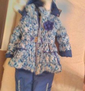Новый зимний костюм 104 размер