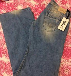 Новые плотные джинсы