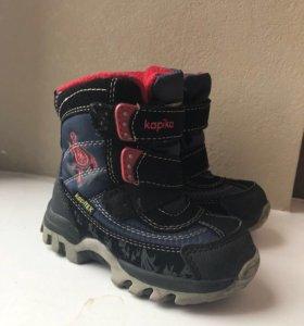 Детские зимние ботинки Kapika
