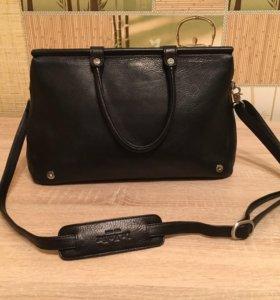 Женская кожаная сумка dr.koffer