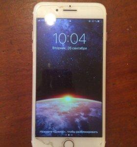 Iphone 7plus rose gold 32gb