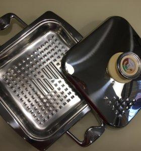 Сковорода Zepter griller 23*23 2.0/