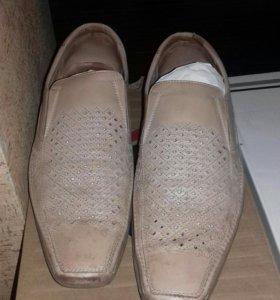 Туфли мужские кожаные 43 размер