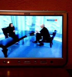 Авто монитор-телевизор Mystery MTV-1025
