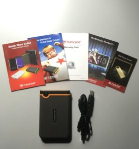 Transcend StoreJet 640GB Внешний жесткий диск.