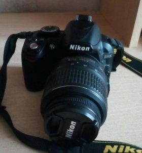 Продам nikon 3100+ Nikon 18-55mm kit