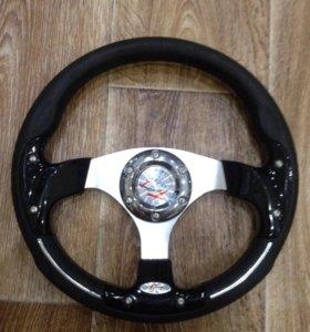 Рулевое колесо+переходник для Матиз.