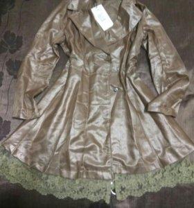 Пальто женское, новое, размер XL