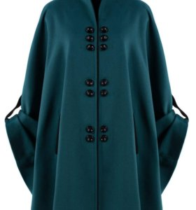 новое пальто-пончо