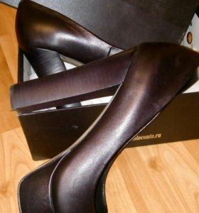 Кожаные туфли Paolo Conte