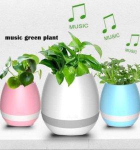 Умный музыкальный горшок Smart Music Flowerpot