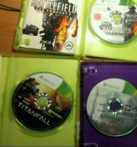 3 диска xbox360