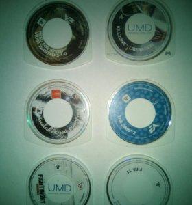 PSP umd диски игры