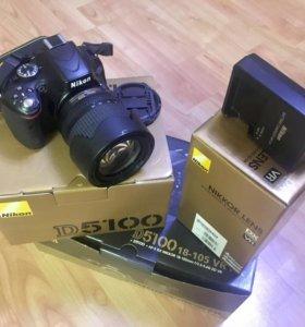Зеркальный фотоаппарат Nikon D5100 18-105 VR DX