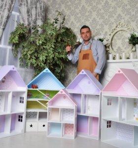 Кукольные домики для принцесс 👸 и парковки для 👶