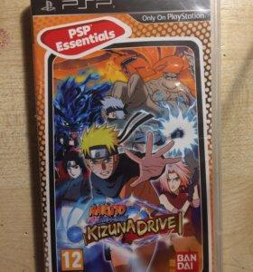 Диск Naruto на PSP 12+
