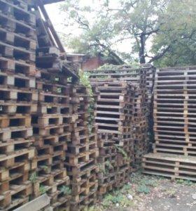 Поддоны деревянные 80мм на 120мм, 100мм на 120мм
