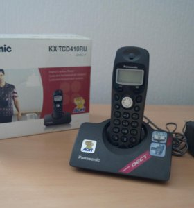 Радиотелефон Panasonic KX-TCD410