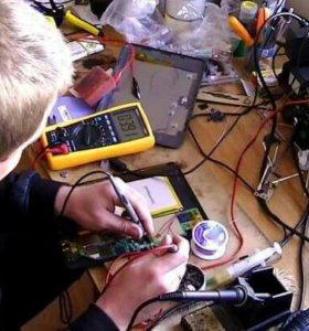 Ремонт компьютеров на дому, частный мастер